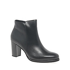 Gabor - Black 'Reason' womens modern ankle boots