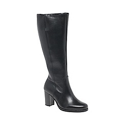 Gabor - Black 'Collier' womens long boots