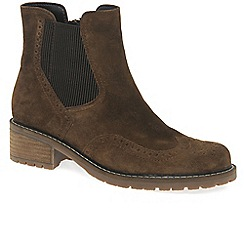Gabor - Brown 'Imagine' Womens Chelsea Look Boots