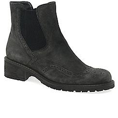 Gabor - Dark grey 'Imagine' Womens Chelsea Look Boots