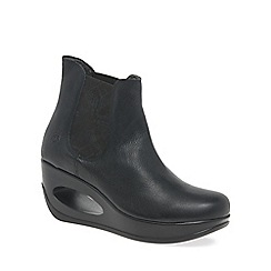 Fly London - Black 'Haro' womens chelsea boots