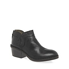 Fly London - Dark brown 'Dias' womens ankle boots