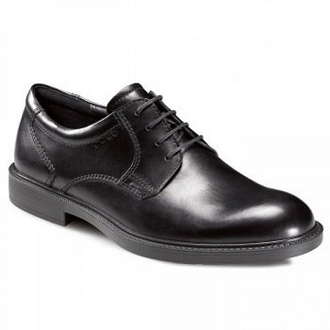 Ecco - Black South Lace Up Shoes