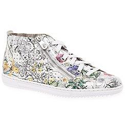 Rieker - Multi Coloured 'Bouquet' ankle boots