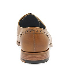 Barker - Tan 'Woody' Derby Mens Formal Brogues