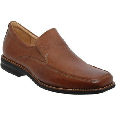 Brown New Bahia Mens Leather Slip On Shoes