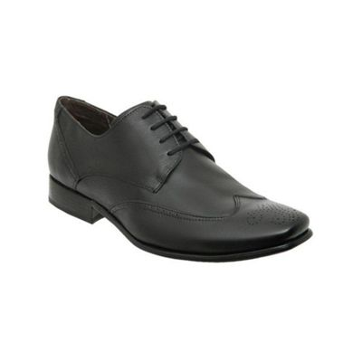 Black Guara Ii Mens Smooth Leather Shoes