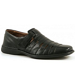 Josef Seibel - Black 'Steven' casual shoes