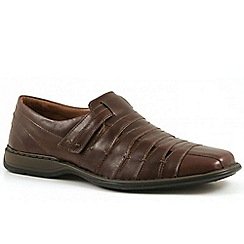 Josef Seibel - Chocolate 'Steven' casual shoes
