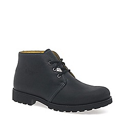 Panama Jack - Black Classic Casual Lace Up Boot