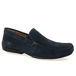 Anatomic Gel - Navy 'Tavares' mens casual slip on shoes