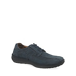 Josef Seibel - Grey 'Anvers 08' mens extra wide casual shoes