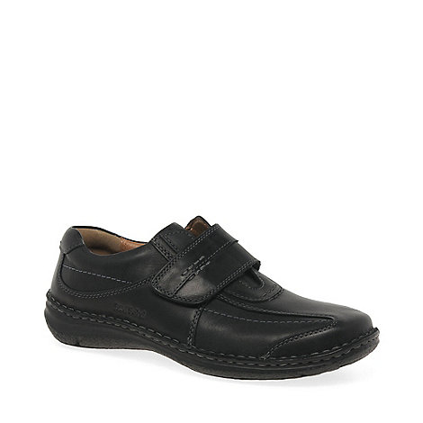 Josef Seibel - Black Alec Mens Casual Shoes