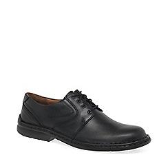 Josef Seibel - Black 'Walt' lace up shoes