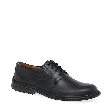 Josef Seibel - Black +Walt+ lace up shoes