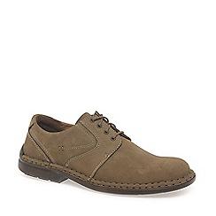 Josef Seibel - Taupe 'Walt' lace up shoes