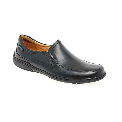 Pikolinos - Black +Harry+ Mens Smart Slip On Shoes