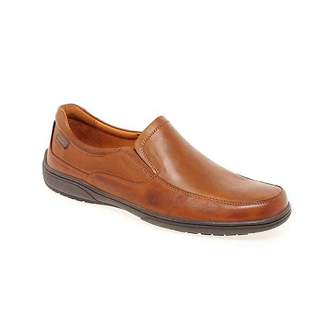 Pikolinos - Tan +Harry+ Mens Smart Slip On Shoes