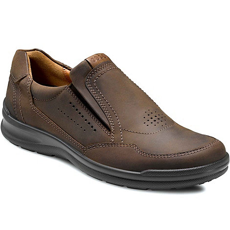 Ecco - Brown Wild Men+s Slip On Casual Shoes