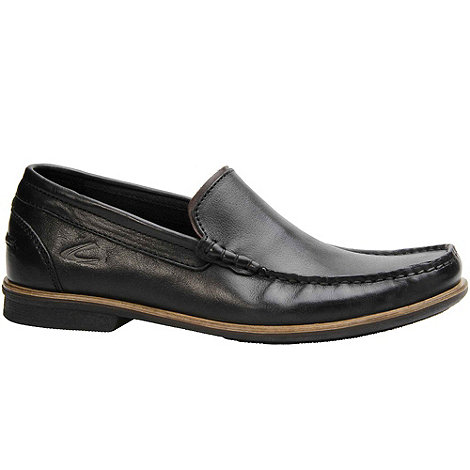 Camel Active - Black Ryder Mens Slip On Casual Shoes