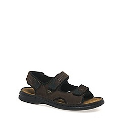 Josef Seibel - Brown Franklyn Riptape Sandals