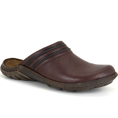 Josef Seibel - Brown Logan Mens Casual Mules