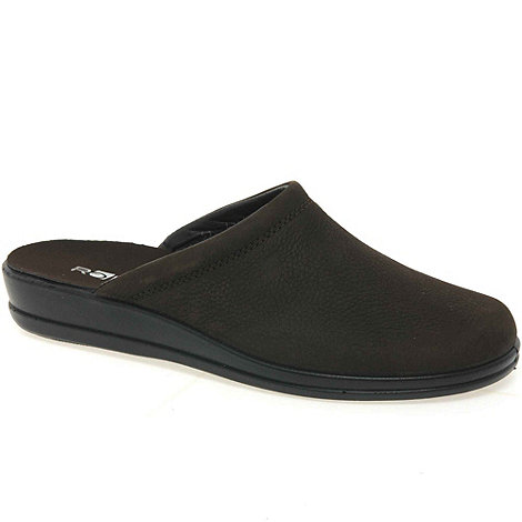 Rohde - Brown reel mens casual mules