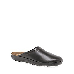 Rohde - Brown Range Leather Mens Slippers