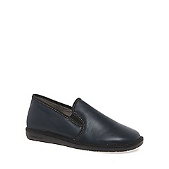 Nordikas - Navy 'Noble III' Mens Slippers