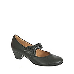 Gabor - Black henrietta black lea dress courts