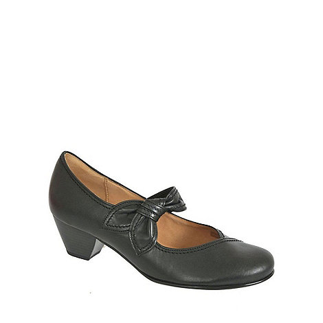 Gabor - Black henrietta black lea courts