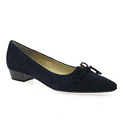 Peter Kaiser - Navy 'Lizzy' low heel court shoes