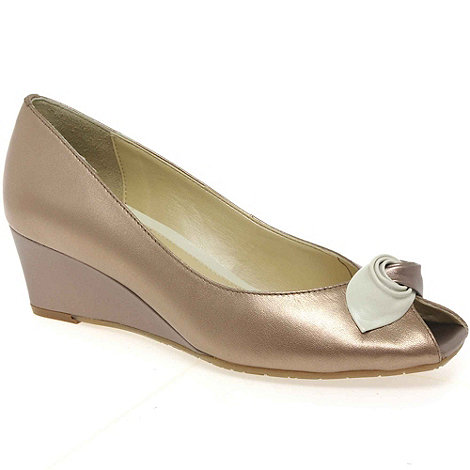 Van Dal - Bronze 'manila' ladies court shoes