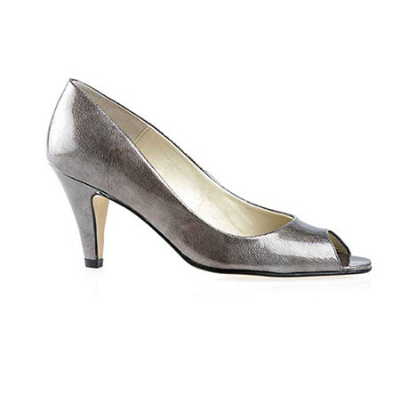 Van Dal - Metallic +Danvers+ Ladies Peep Toe Court Shoes