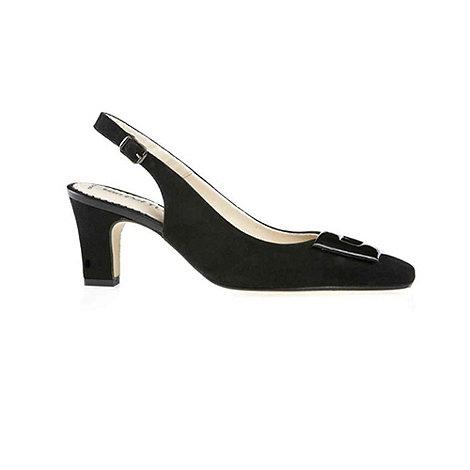 Van Dal - Black +Kingstown+ Slingback Shoes