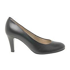 Gabor - Black 'Lavender' Classic Court Shoes