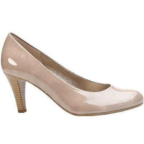 Gabor - Beige +lavender+ classic court shoes