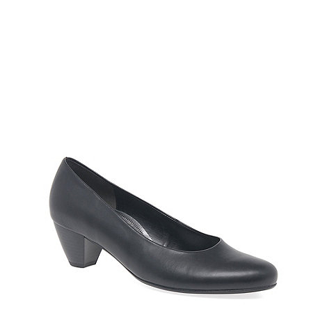 Gabor - Black +Whitaker+ Womens Court Shoes