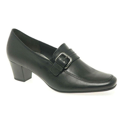 Gabor - Black decker court shoes