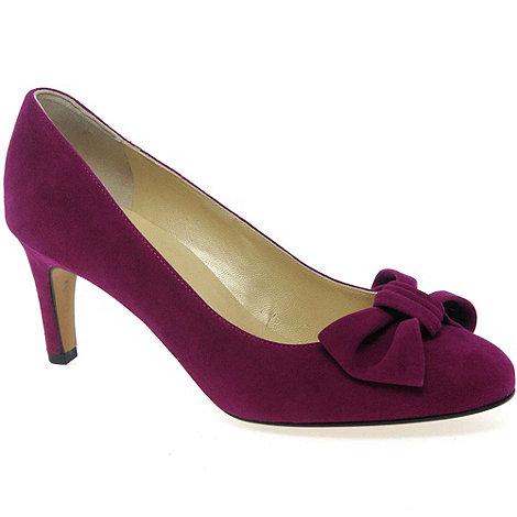 Peter Kaiser - Dark pink +Elizabet+ Suede Court Shoes