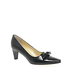 Peter Kaiser - Black 'leola' leather court shoes