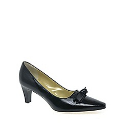Peter Kaiser - Black patent 'Leola' Leather Court Shoes