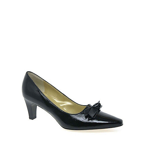 Peter Kaiser - Black patent +Leola+ Leather Court Shoes