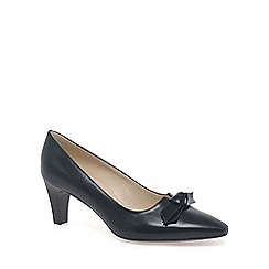 Peter Kaiser - Navy 'leola' leather court shoes