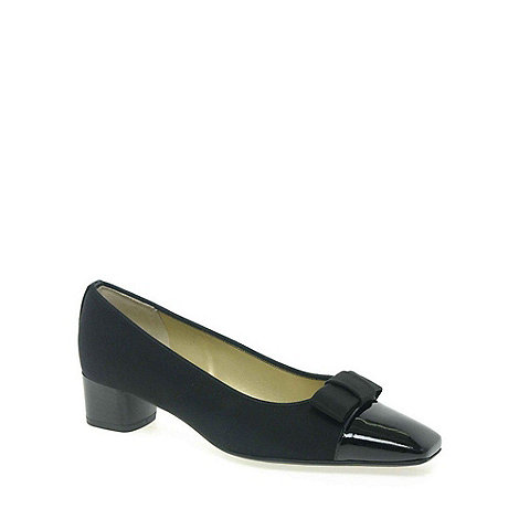 Peter Kaiser - Black +Beli+ Bow Detailed Court Shoes