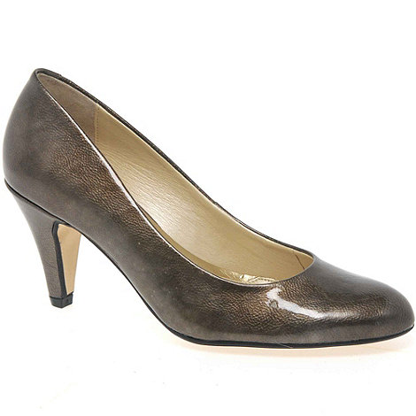 Van Dal - Metallic +Holt+ Patent Court Shoes