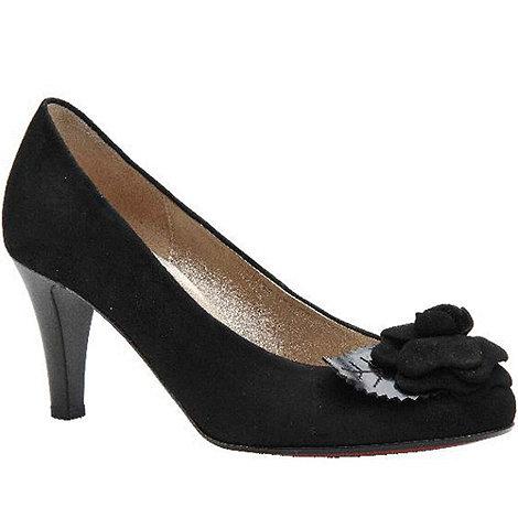 Gabor - Black +martina+ suede dress court shoes