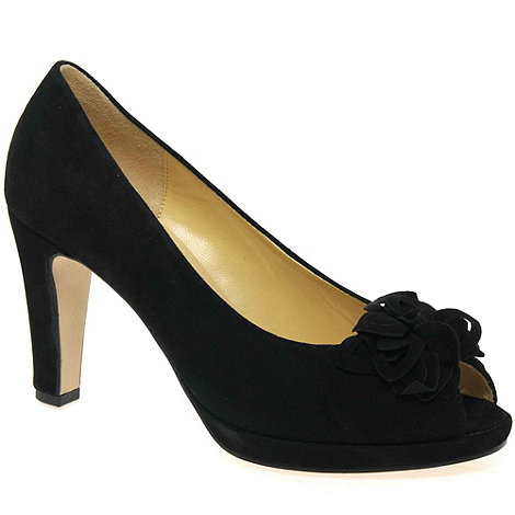 Gabor - Black moonlight womens open toe court shoes