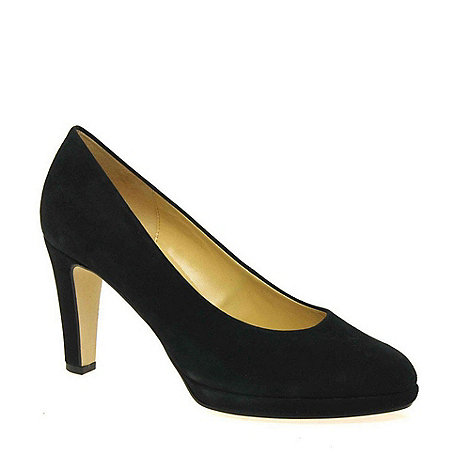 Gabor - Near black +splendid+ womens court shoes