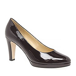 Gabor - Wine 'Splendid' womens dress court shoes